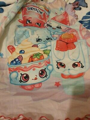Lovely Girls George Reversible Shopkins Nightdress Age 6-7 Years