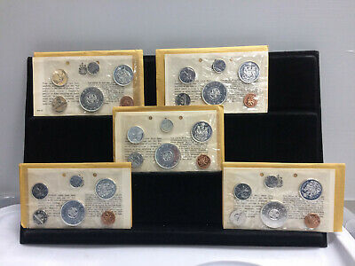 1964 Canada Proof LIke Silver Uncirculated Coin Set Original Packaging