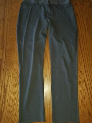 Nwt Womens Calvin Klein Fossil Grey Gray Leggings Jeggings Pants Size 10 16