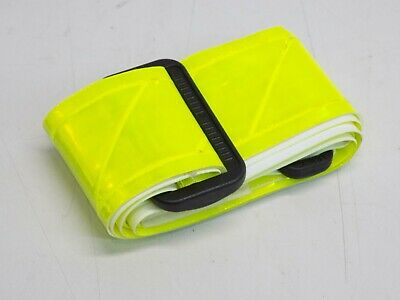 "GENUINE US Military Hi Visibility Reflective Safety PT Belt 2/"" Neon Orange EXC"