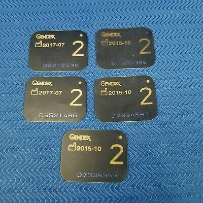 Gendex #2 X-Ray Phosphor Plates Pack of 5