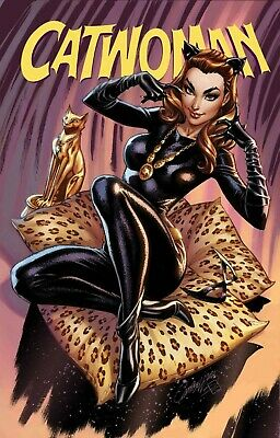 CATWOMAN 80th ANNIVERSARY SPECT 1 1960's J SCOTT CAMPBELL VARIANT PRE-SALE 6/3