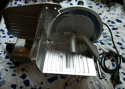 TreSpade Tre Spade Domestic Electric Meat Deli Slicer - Working - Made in Italy