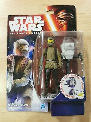 Star Wars The Force Awakens Action Figure Space Mission Resistance Trooper