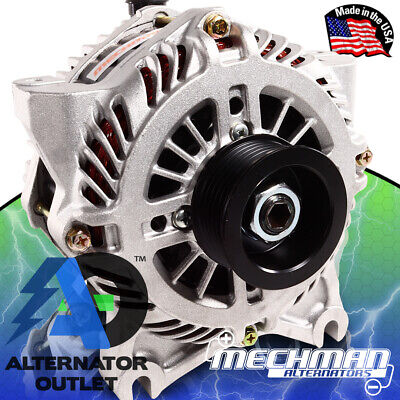 Mechman 240 Amp Alternator for 2004-2011* FORD / MERCURY 4.6L / 5.4L / 6.8L