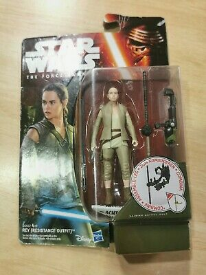 Star Wars The Force Awakens Rey Resistance Outfit action figure