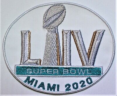 NFL Super Bowl LIV - 54 Miami 2020 Oval Iron-on Patch