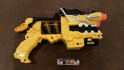 Power Rangers Dino Charge Charger #2 Black Parasaurolophus Para Cosplay Battery
