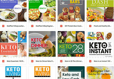(PDF Version) Bumper 50 Keto Book Pack 2  weight loss recipes diet diet slimming