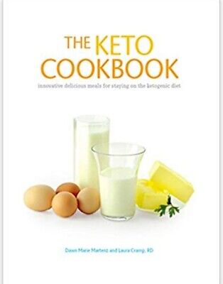 (PDF version) The Keto Cookbook Recipe Book Ketogenic Diet slimming Creamery