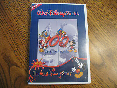 Walt Disney World Parks and Resorts 100 Years of Magic DVD 2001 BRAND NEW