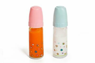 Magic Baby Bottles - 2 Bottles, 1 Milk and 1 Juice especially bigger sized for