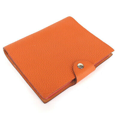 HERMES Ulysse PM Togo Leather Agenda Cover With Refill #48742 from Japan