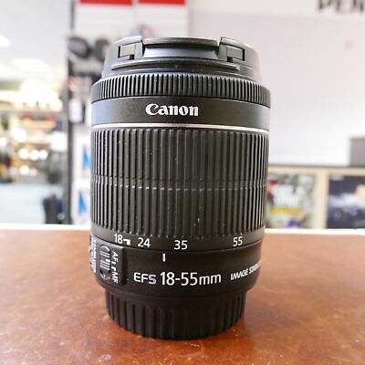 Used Canon EF-S 18-55mm F3.5-5.6 IS STM Lens - 1 YEAR GTEE