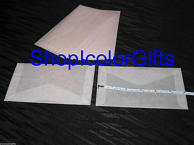 ShopIcolorGifts- 100 Brand New Glassine Envelopes Size #5 (3-1/2 x 6)