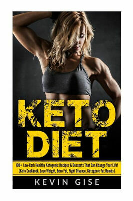 (PDF version) Keto Diet: 100+ Low-Carb Healthy Ketogenic Recipes & Desserts