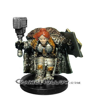 DWARF SHIELDMAIDEN  #33 D/&D Mini Dungeons of Dread - and HARD TO FIND!!