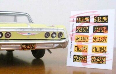 GAS MONKEY miniature LICENSE PLATES for 1//25 scale MODEL CARS