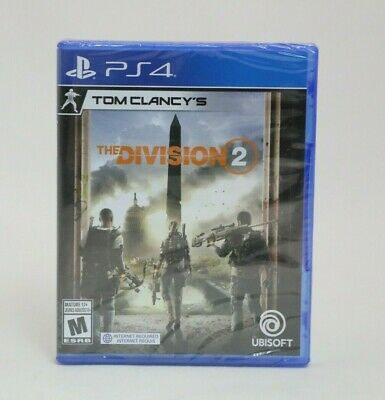 Tom Clancy's The Division 2 PS4 NEW
