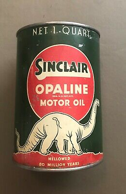 Vintage Sinclair Motor Oil Can 1 qt - Reproduction Tin Collectible