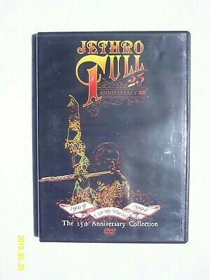 Jethro Tull: A New Day Yesterday The 25th Anniversary Collection(DVD)*MINT DISC*