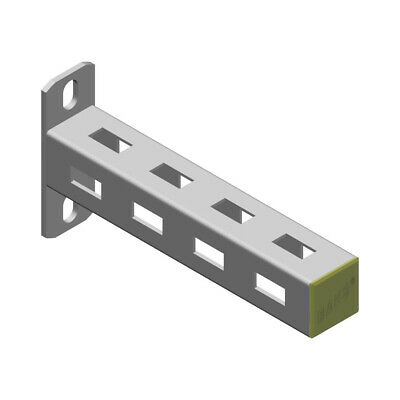 Wall Bracket Canterlever Cantilever arm 300mm - 900mm Hot dipped Unistrut style