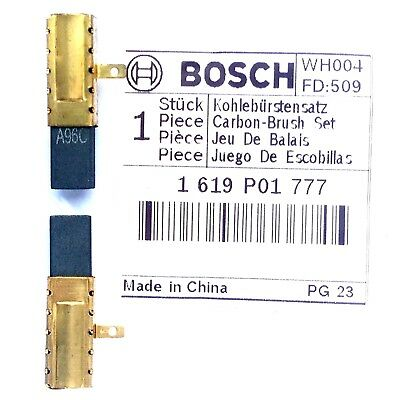 Bosch Carbon Brushes for GBH 200 2000 2-18 RE 2-20 D SDS Drill 1619P01777