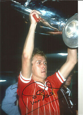 Phil Neal Liverpool 12 x 8 inch hand signed authentic football photo SS321A