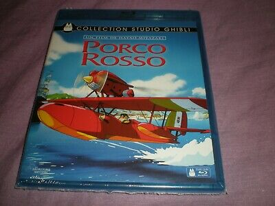 collection studio ghibli porco rosso blu ray neuf sous blister