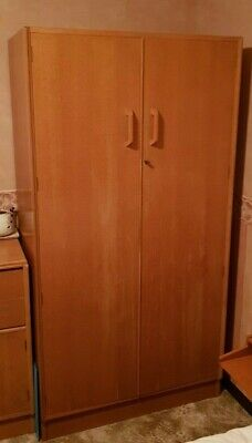 Mid Century G Plan Brandon Oak Wardrobe E Gomme.  1950's  Superb quality