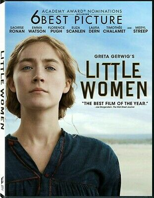 Little Women (DVD, 2019)>>>NEW<<< PRE-ORDER>>><<<MERYL STREEP>>> SHIPS ON APRIL!