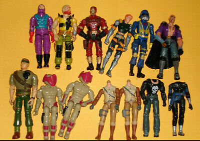 GI JOE STANDS FOR DISPLAY VINTAGE ACTION FIGURES CLEAR X 100 T6c