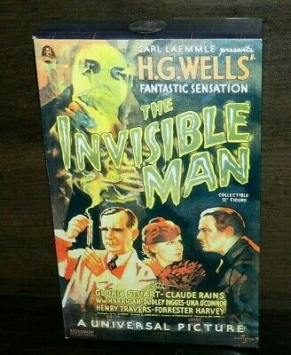 "Sideshow The Invisible Man 12"" Figure Brand New Universal Monsters Movie"