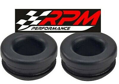 Rubber Baffled PCV Breather Grommets For Aluminum Valve Covers SBC BBC 350 2