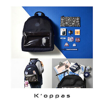TWOTUCKGOM X MONSTA X DIY Backpack Set Full Package Official MD+Tracking Kpop