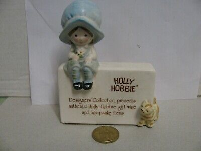 Holly Hobbie Porcelain    Store  Display  Name  Stand