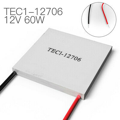 TEC1-12706 Heatsink Thermoelectric Cooler Cooling Plate Module 12V 60W Free-post