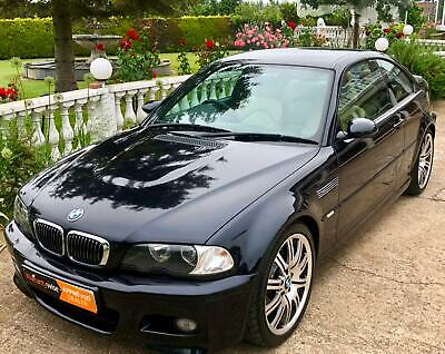 2005 Bmw Beautiful Bmw M3 3.2 Manual, Carbon Black With Kiwi Leather E46 Rare