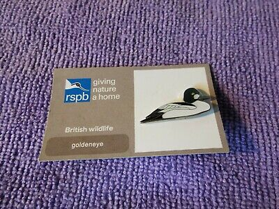 RSPB Pin Badge GOLDENEYE (P)