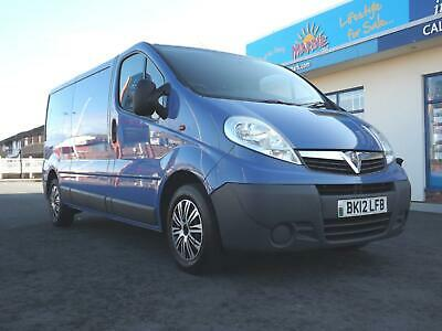 2012/12 Vauxhall Vivaro 2.0CDTi 115ps 2900 LWB One Owner!!!