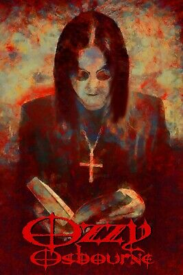 """Ozzy Osbourne Poster Art Large 20x30 """"See You On The Other Side"""" Black Sabbath"""