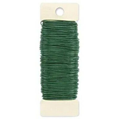 Paddle Wire, 22-Gauge, Green, 38 Yards Garden Tree Christmas Decor #HA2