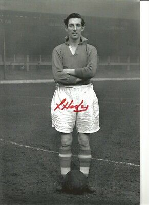 Lawrie Hughes Liverpool 12 x 8 inch hand signed authentic football photo SS332A