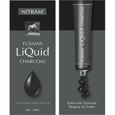 Nitram Liquid Charcoal 50ml tube