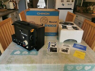 Vintage Chinon Sound 6100 Z Projector