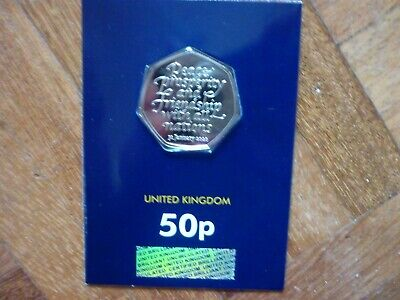 2020 BREXIT 50p FIFTY PENCE COIN UNCIRCULATED WITHDRAWAL FROM THE EU