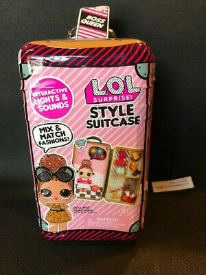 (1) VHTF LOL SURPRISE STYLE SUITCASE-BOSS QUEEN 100% Authentic & factory sealed