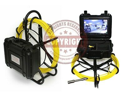 Tpi Sewer Drain Pipe Inspection Video Camera System, Plumbing Snake,Water Well