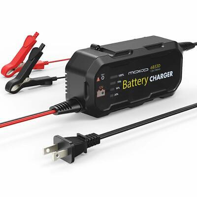 MoKo Automotive Battery Charger, Car Motorcycles 1.5A Sealed Lead Acid Battery