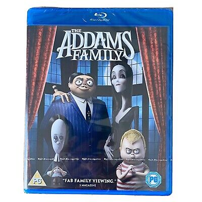 The Addams Family [Blu-ray] [2019] New & Sealed